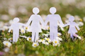 Familie und Angehoerige