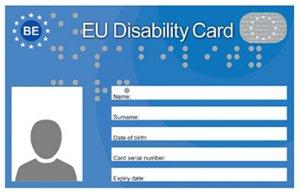 Der europäische Behinderten-Ausweis